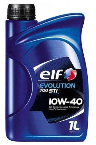 Моторное масло ELF EVOLUTION 700 STI 10W-40 1 л цена 2017