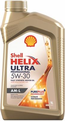 Моторное масло SHELL Helix Ultra Professional AM-L 5W-30 1 л