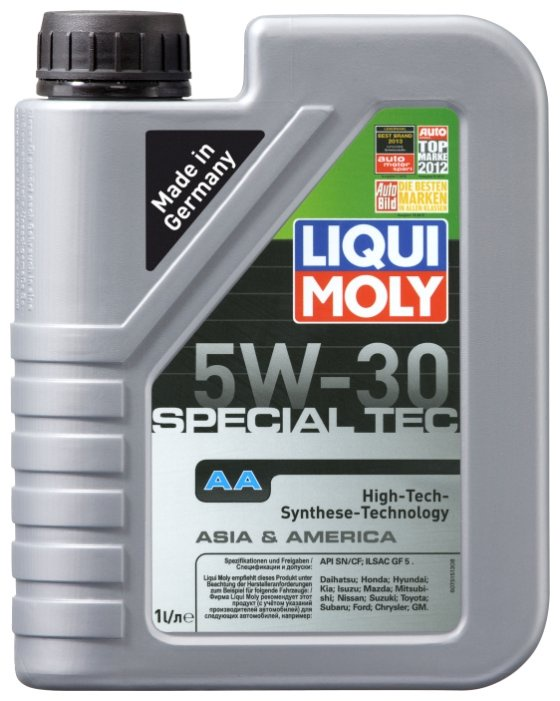 Моторное масло LIQUI MOLY Special Tec AA 5W-30 1 л цена