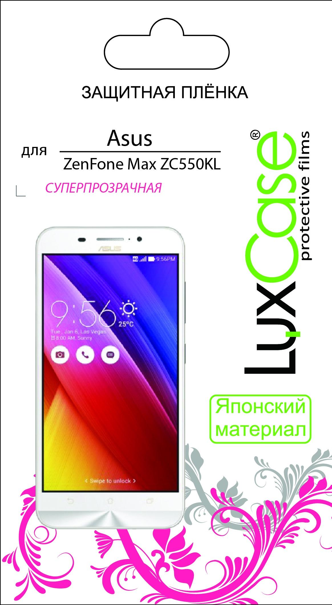 цена на Пленка ASUS ZenFone Max ZC550KL / суперпрозрачная