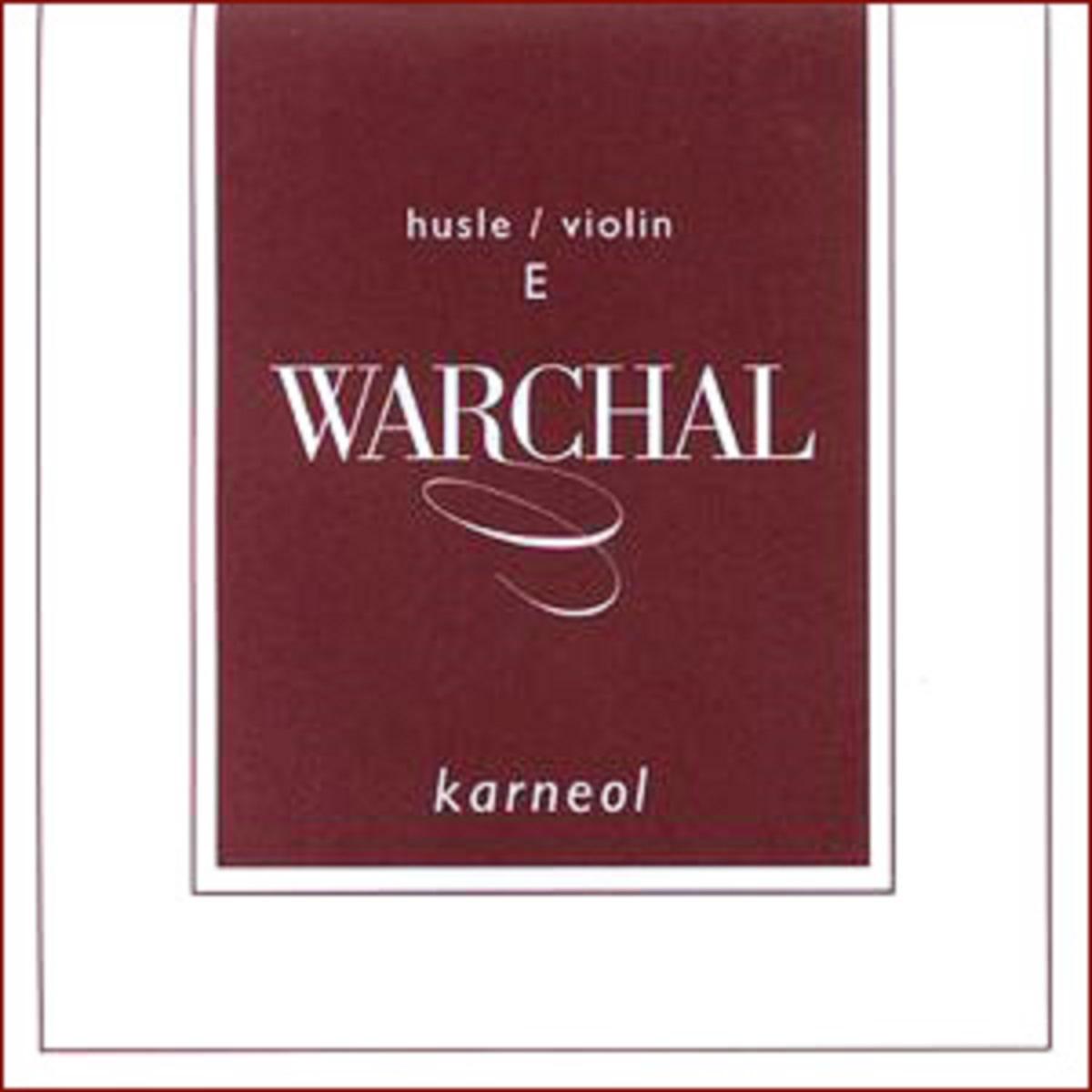 Струна E для скрипки Warchal Karneol 501L