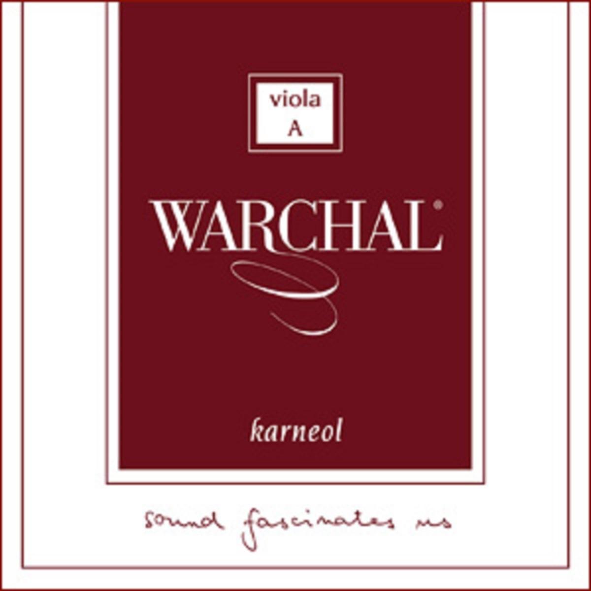 Комплект струн для альта Warchal Karneol 510L