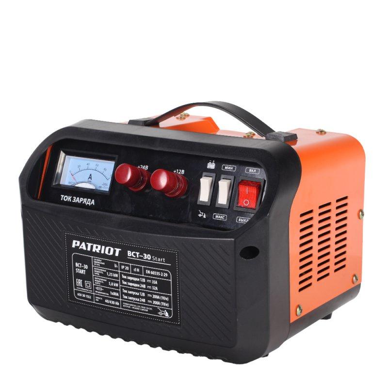 Устройство зарядное PATRIOT BCT- 30 Start пуско зарядное устройство patriot bct 350 start