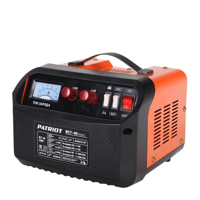 Устройство зарядное PATRIOT BCT- 40 Start пуско зарядное устройство patriot bct 350 start