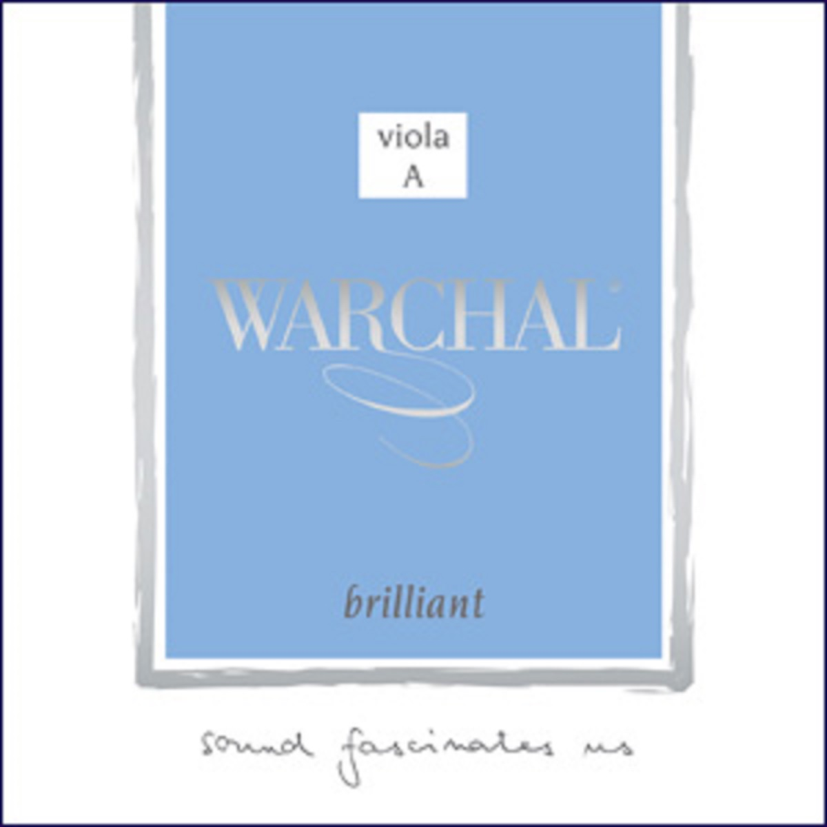 Струна A для альта Warchal Brilliant 911MSB