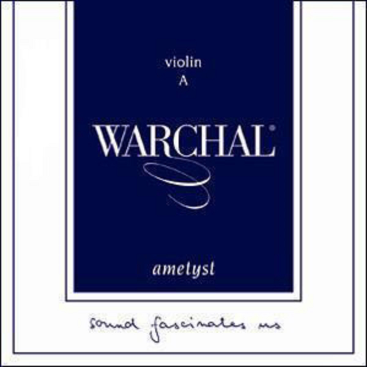 Струна A для скрипки 3/4 Warchal Ametyst 402