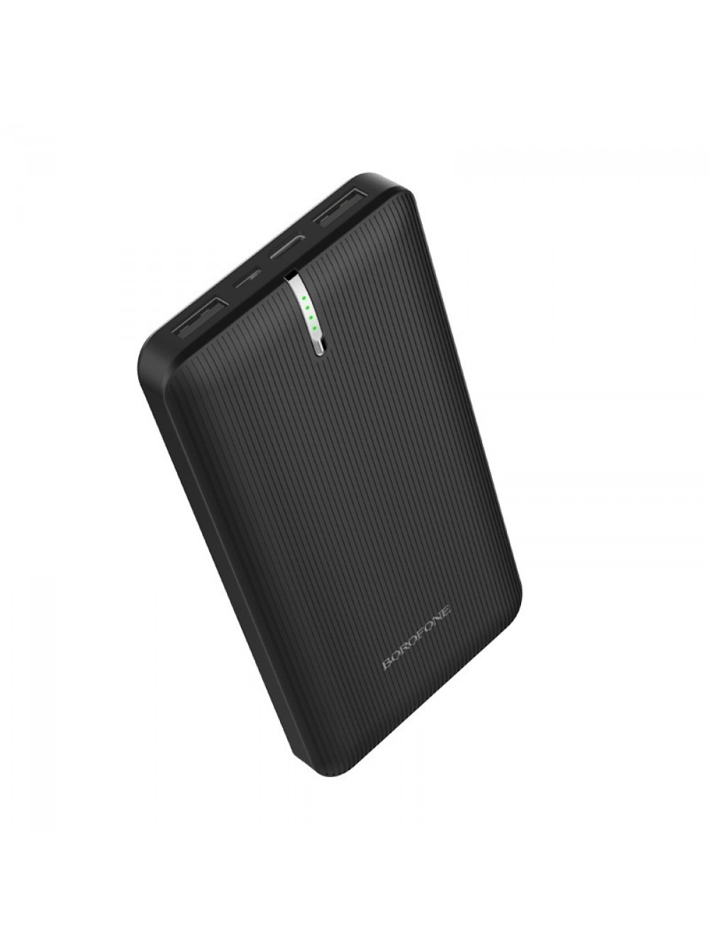 Фото - Внешний аккумулятор Borofone BT18A Prosperous mobile power bank 13000mAh Black внешний аккумулятор power bank 13000 мач buro ra 13000 qc3 0 черный