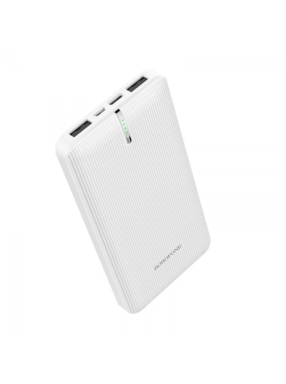 Фото - Внешний аккумулятор Borofone BT18A Prosperous mobile power bank 13000mAh White внешний аккумулятор power bank 13000 мач buro ra 13000 qc3 0 черный