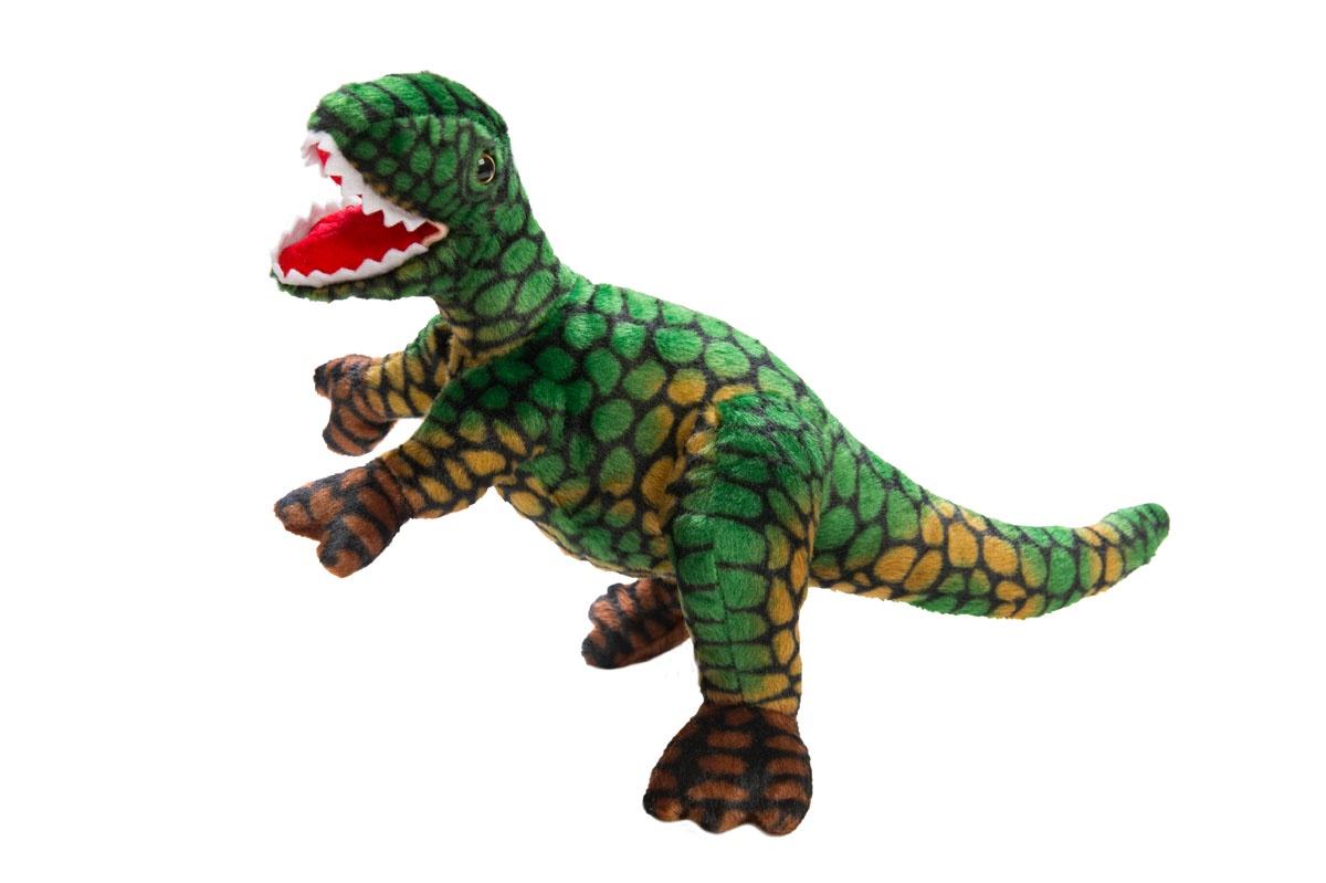 Мягкая игрушка Динозавр Тиранозавр, зеленый