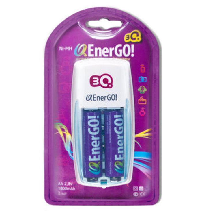 Зарядное устройство для аккумуляторов 3Q Q-EnerGO! C23-18 + 2 АА (1800 mAh)