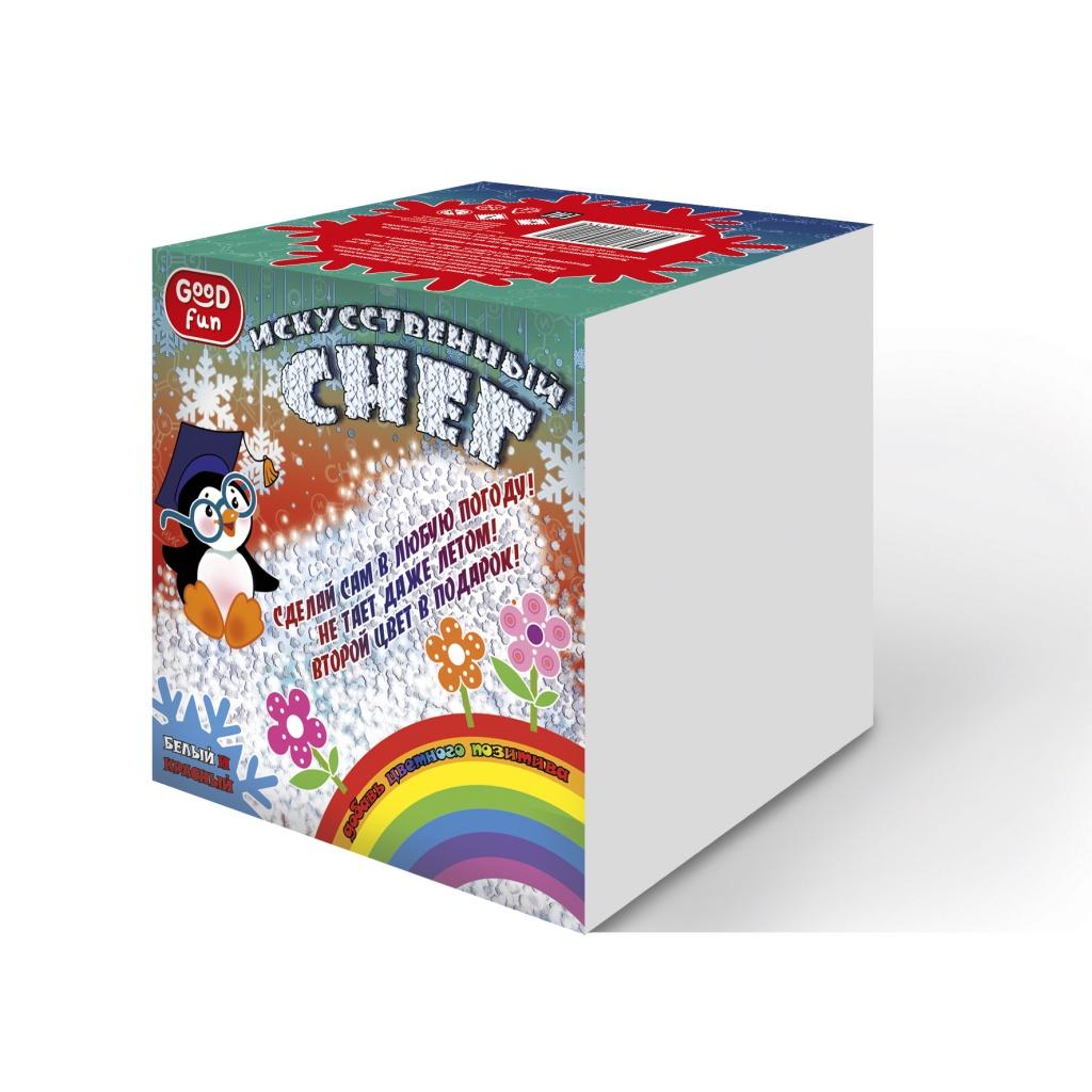 Набор для опытов GOOD FUN Искусственный снег Красный набор для опытов good fun искусственный снег большой набор gf008