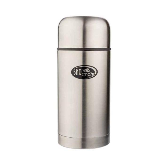 Термос BIOSTAL с широкой горловиной, суповой, в чехле,0,75 л.
