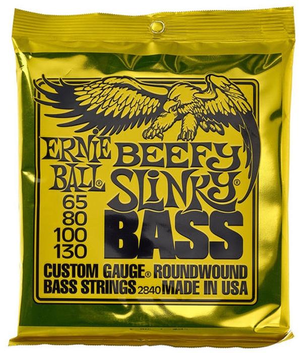 Струны для бас-гитары Ernie Ball 2840 alloy circle ball bead earrings
