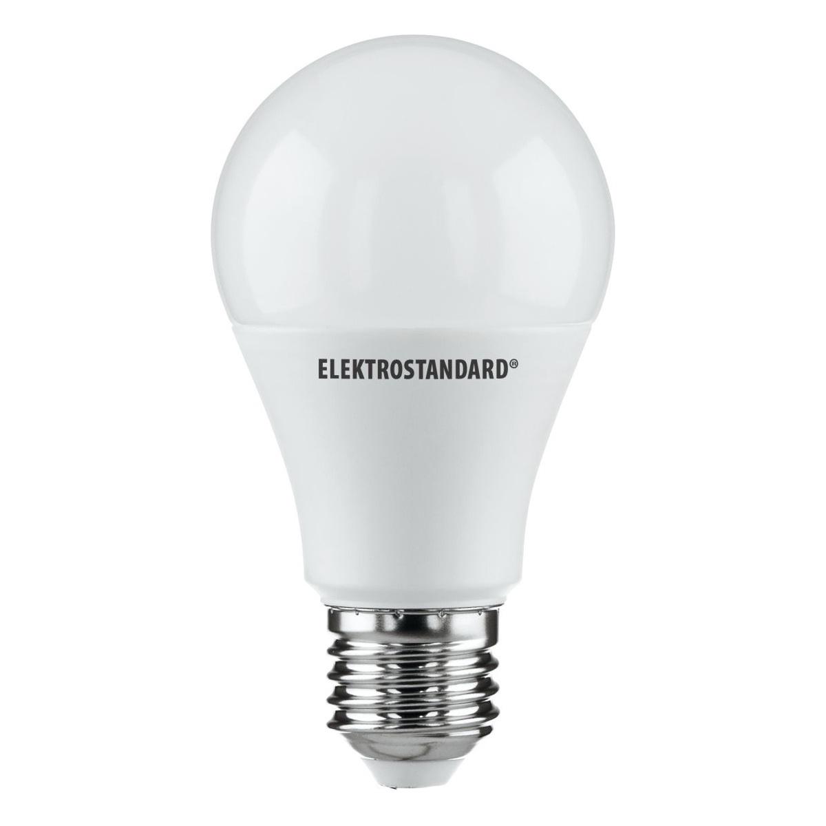Лампочка Elektrostandard светодиодная Classic LED D 10W 3300K E27, Теплый свет 10 Вт, Светодиодная лампы светодиодная elektrostandard classic led d 7w 4200k e27