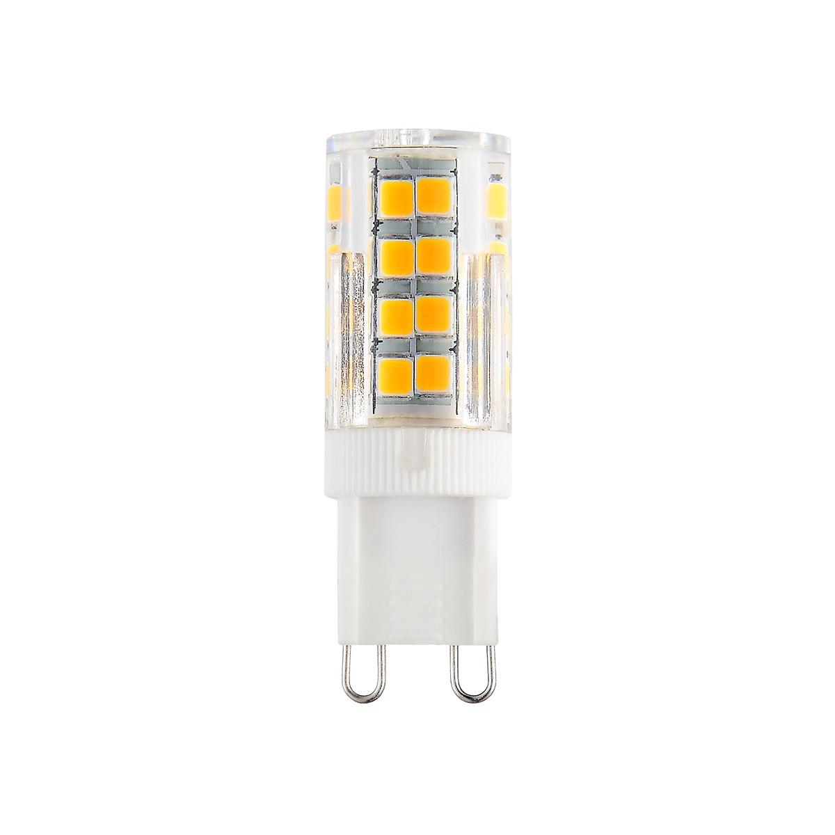 Лампочка Elektrostandard светодиодная G9 LED 7W 220V 3300K, Теплый свет 7 Вт, Светодиодная светодиодная лампа kosmos теплый свет цоколь e27 7w 220v lksm led7wr63e2730