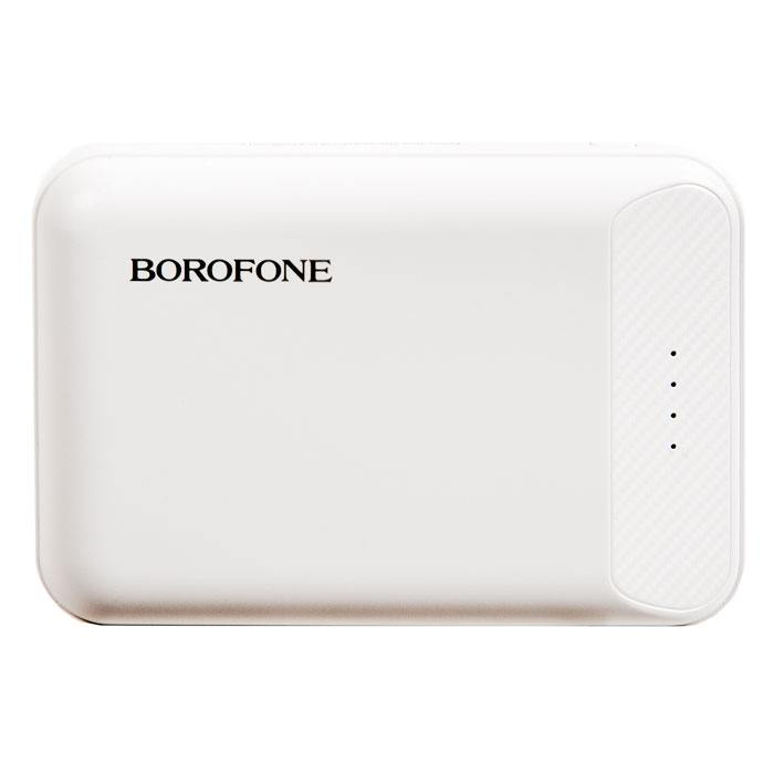 Фото - Внешний аккумулятор Borofone BT17 RayPower Mini Power Bank 10000mAh White аккумулятор