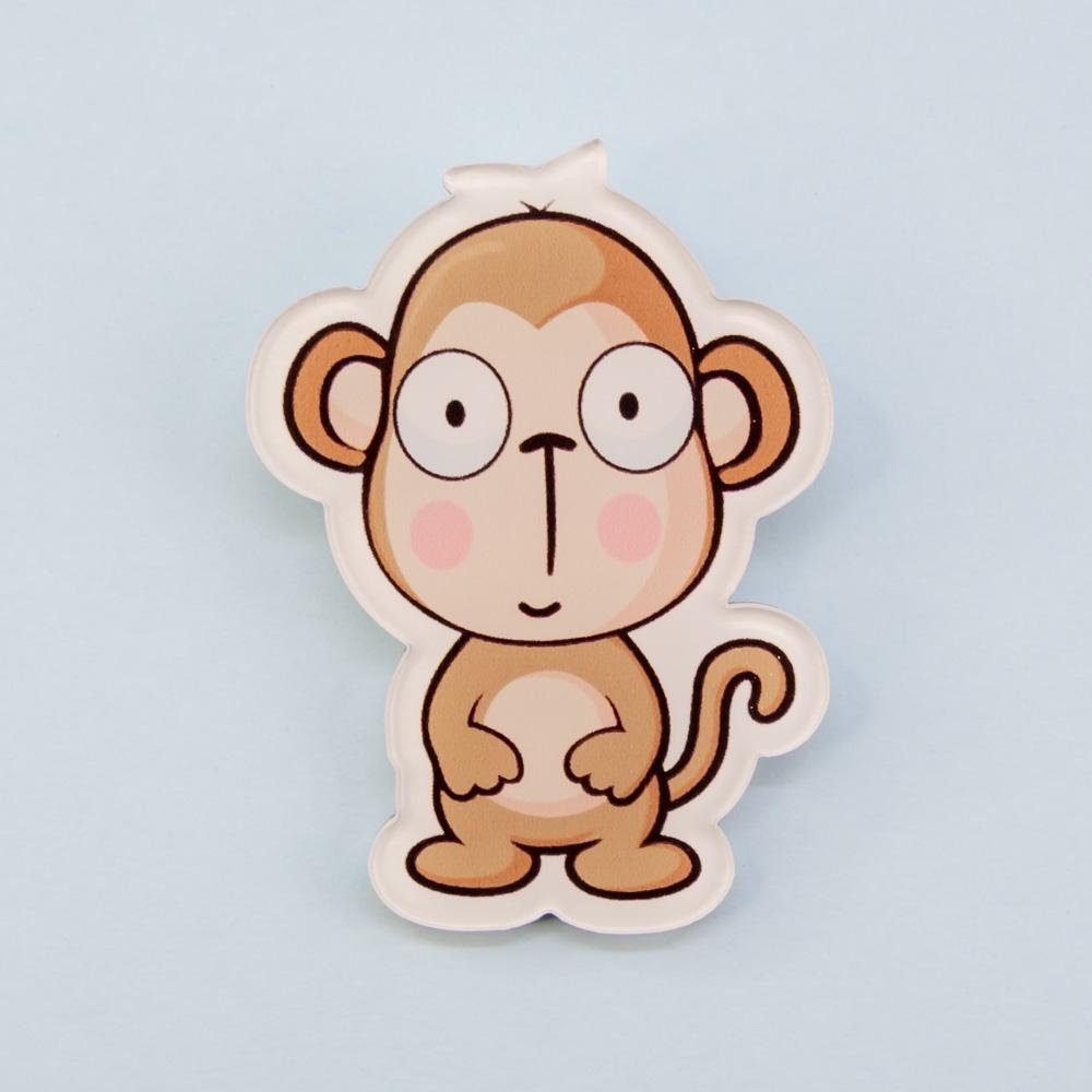 Фото - Брошь бижутерная OTOKODESIGN брошь обезьяна ларри