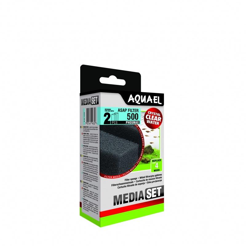 Губка AQUAEL для фильтра ASAP 500 (2 штуки)