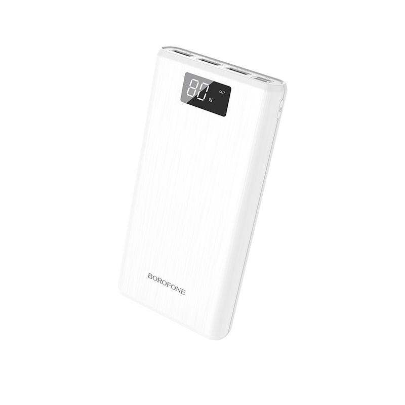 Фото - Внешний аккумулятор Borofone BT2D Fullpower power bank 30000mAh White аккумулятор