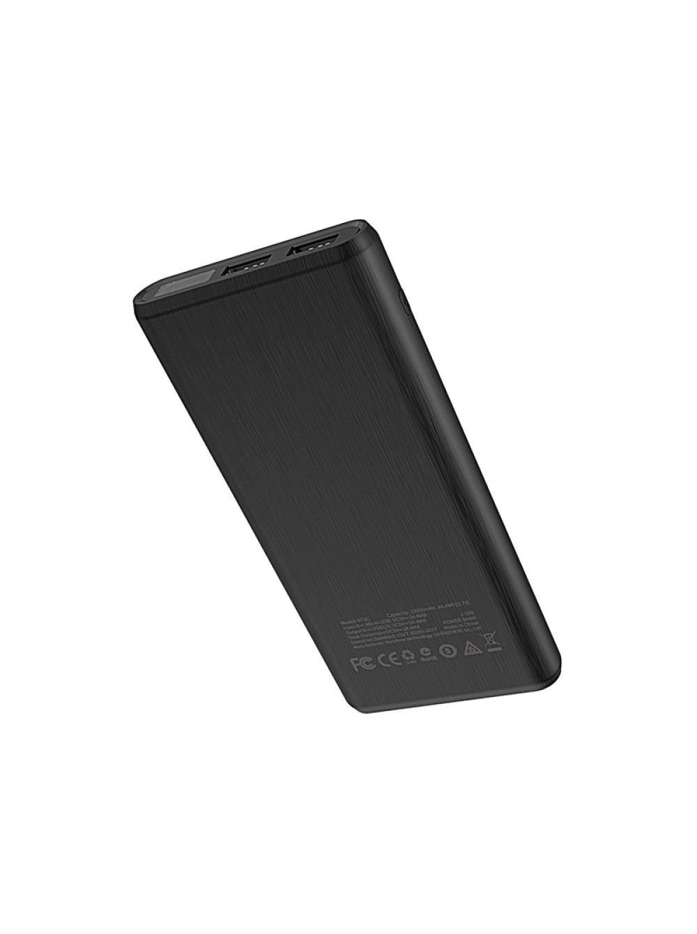 Внешний аккумулятор Borofone BT2C Fullpower mobile power bank 12000mAh Black Borofone