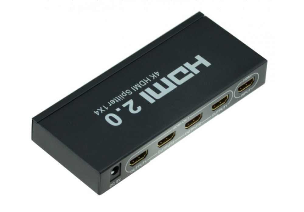 Сплиттер HDMI 2.0 1x4 INVIN HD104