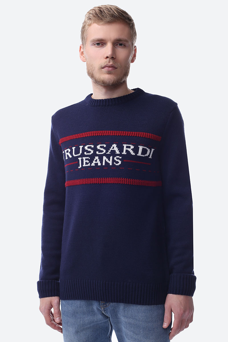 Свитер TRUSSARDI JEANS свитер вязаный trussardi