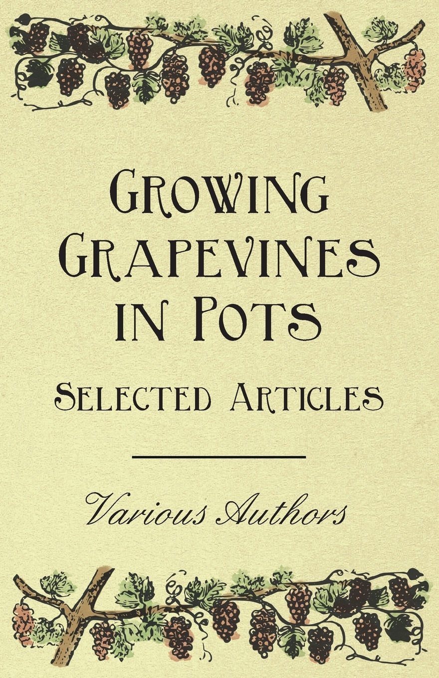 Various Growing Grapevines in Pots - Selected Articles