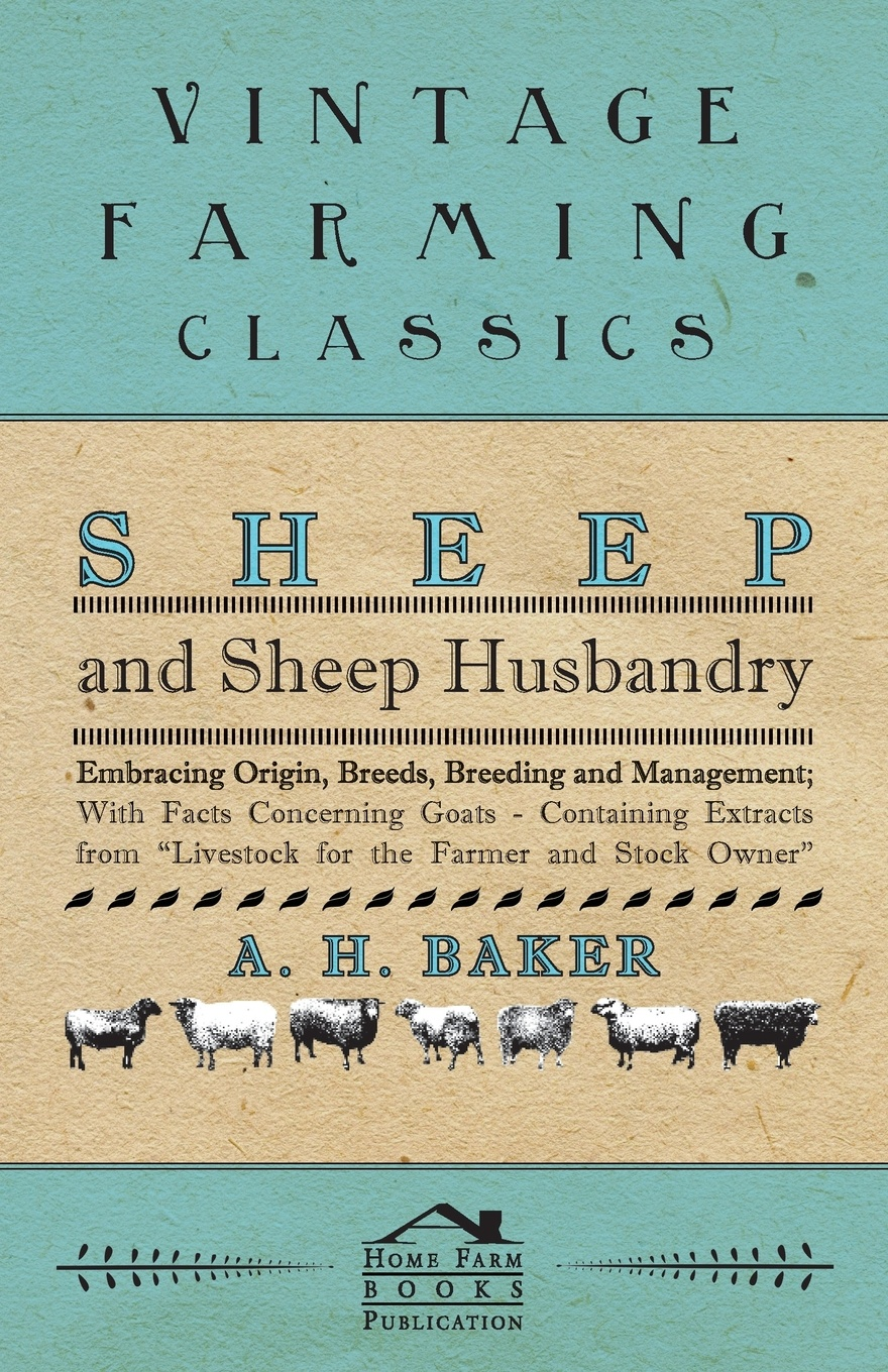 A H Baker Sheep and Sheep Husbandry - Embracing Origin, Breeds, Breeding and Management; With Facts Concerning Goats - Containing Extracts from Livestock for the Farmer and Stock Owner fasciolosis in sheep