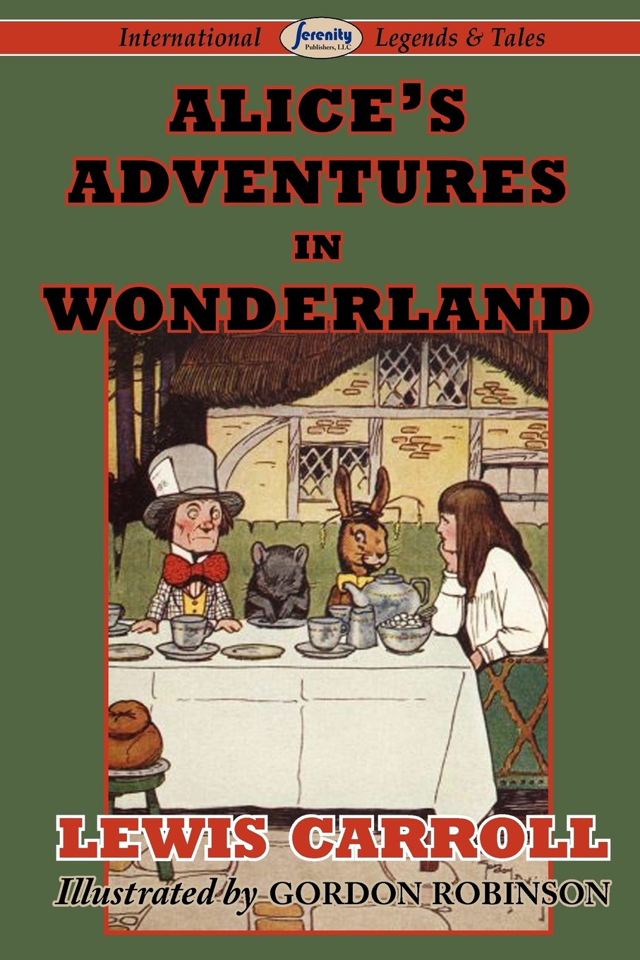 Lewis Carroll Alice's Adventures in Wonderland complete illustrated lewis carroll