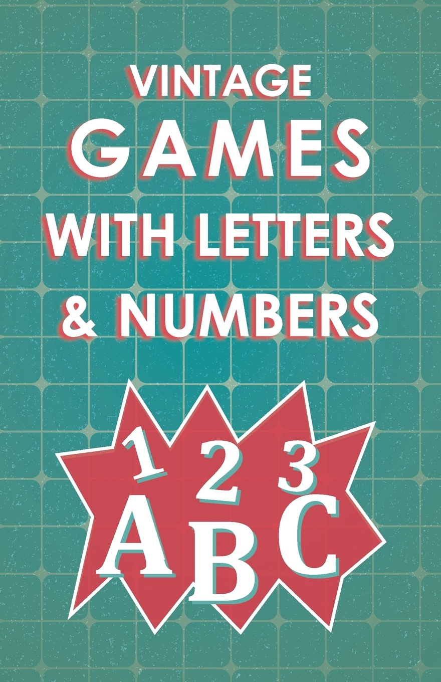 Various Vintage Games with Letters and Numbers паззл vintage puzzles