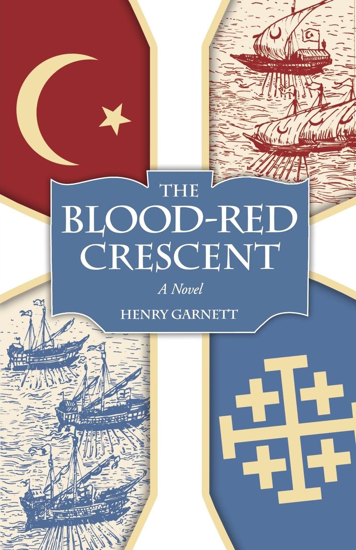 Henry Garnett Blood-Red Crescent, The plus size applique floral crescent hem top