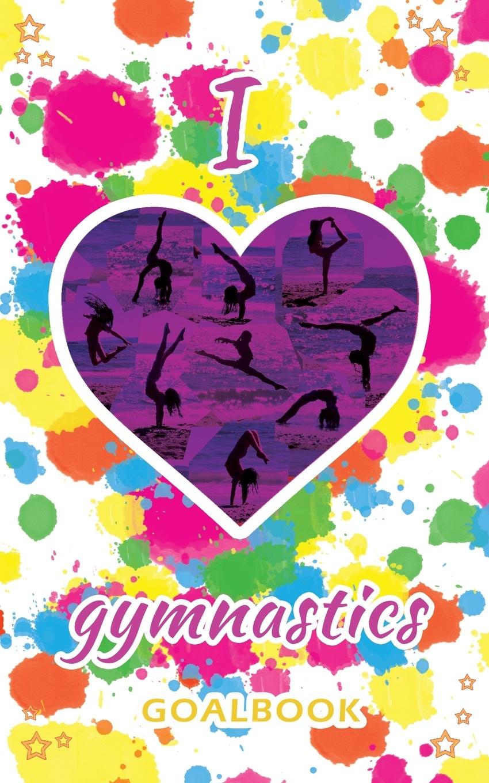 I Love Gymnastics Goalbook (white/splotches cover #2). WAG junior
