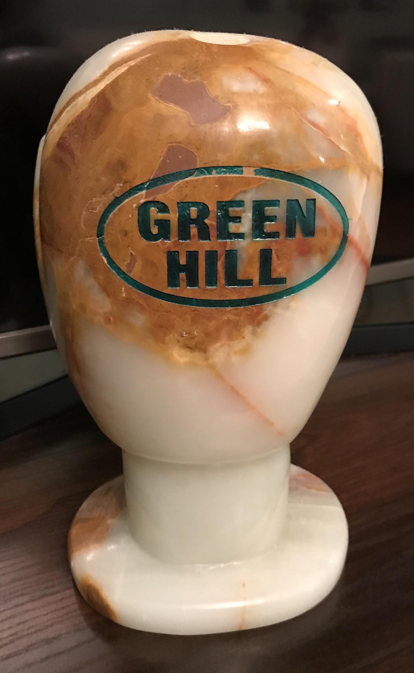 Сувенирная боксерская перчатка из натурального оникса Green Hill