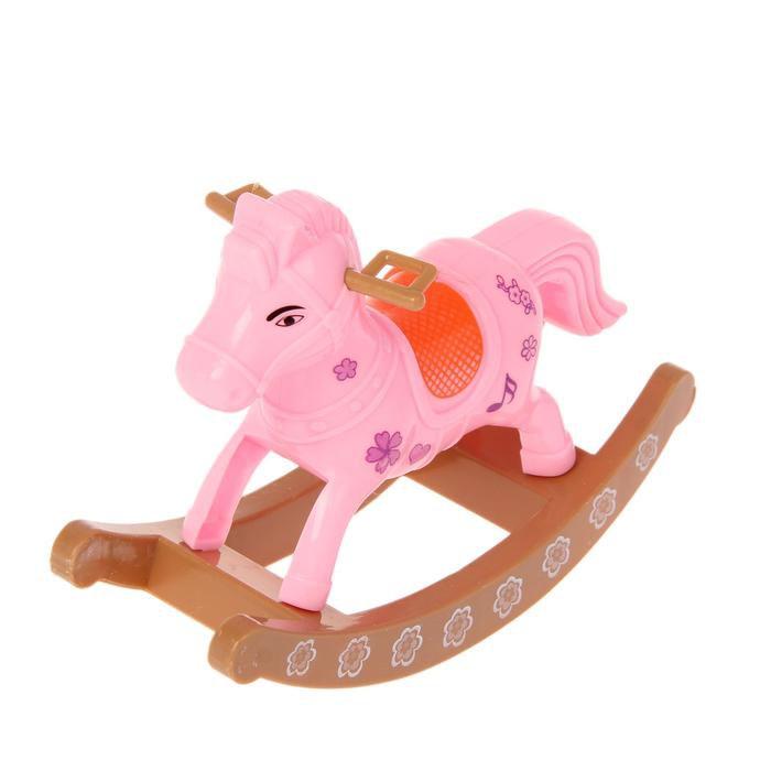 Лошадка для куклы малышки
