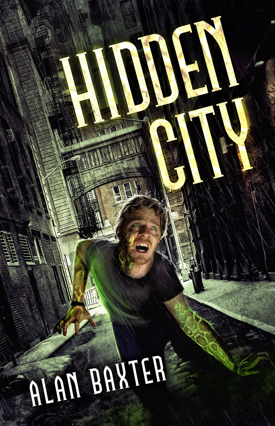 Alan Baxter Hidden City tim hines the oracle