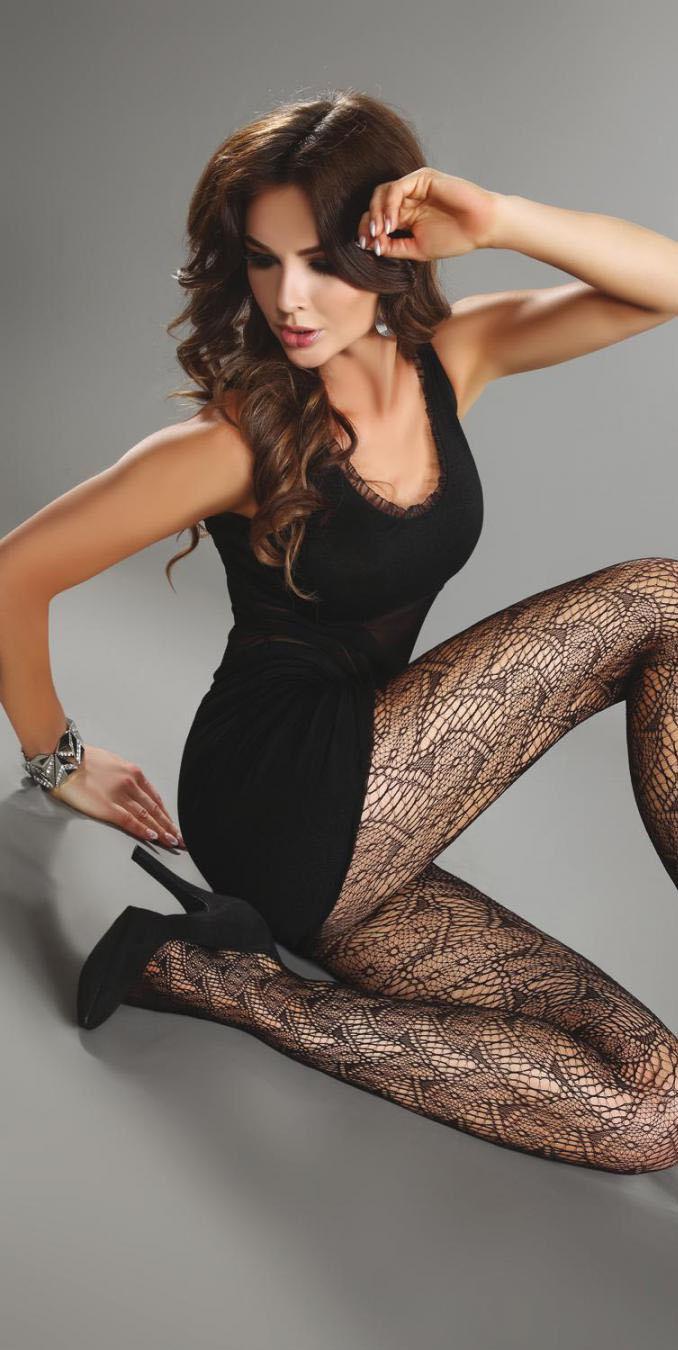 Колготки LivCo CORSETTI livia corsetti amaretta черный пеньюар из атласного материала