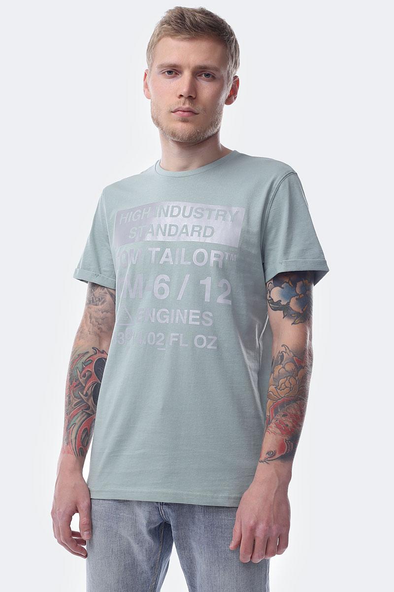 Футболка Tom Tailor футболка для мальчика tom tailor цвет белый 1039542 00 82 1050 размер 104 110