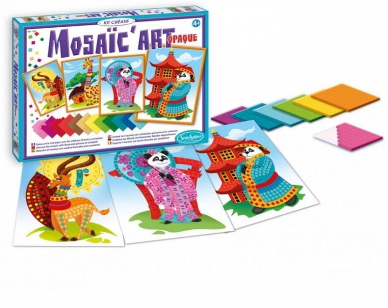 все цены на Набор для детского творчества SentoSphere Мозаика Панды 953 онлайн