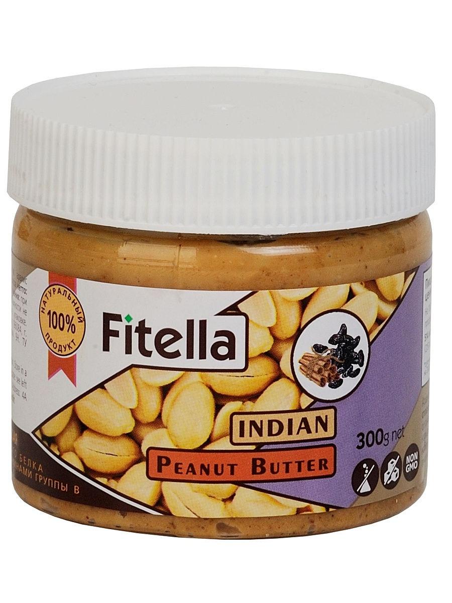 Арахисовая паста Fitella индийская, Vitmax nutrition, 300 гр