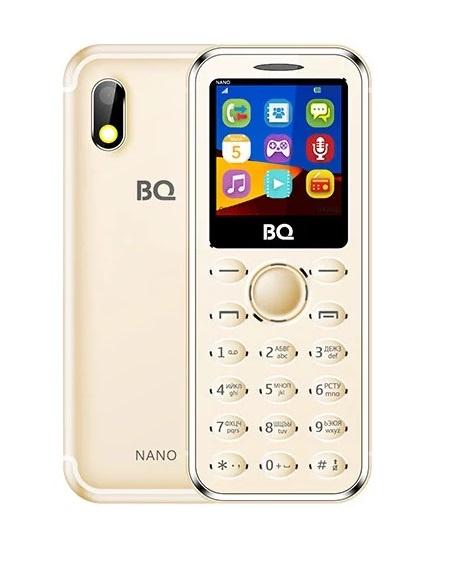 Мобильный телефон BQ-1411 Nano Gold