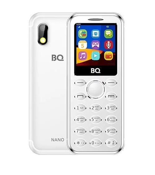 Мобильный телефон BQ-1411 Nano Silver