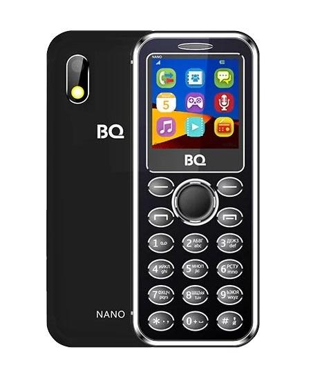 Мобильный телефон BQ-1411 Nano Black мобильный телефон bq 2809 fantasy dark gray