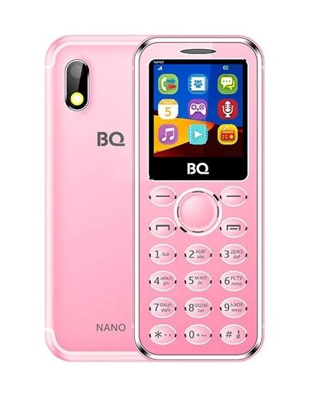 Мобильный телефон BQ-1411 Nano Rose Gold мобильный телефон bq 2429 touch черный 2 4 32 мб bluetooth