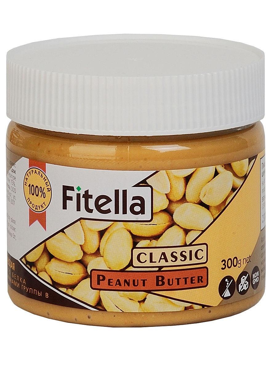 Арахисовая паста Fitella классическая, Vitmax nutrition, 300 гр