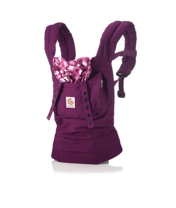 Рюкзак-переноска ERGObaby carrier Фиолетовая мистика