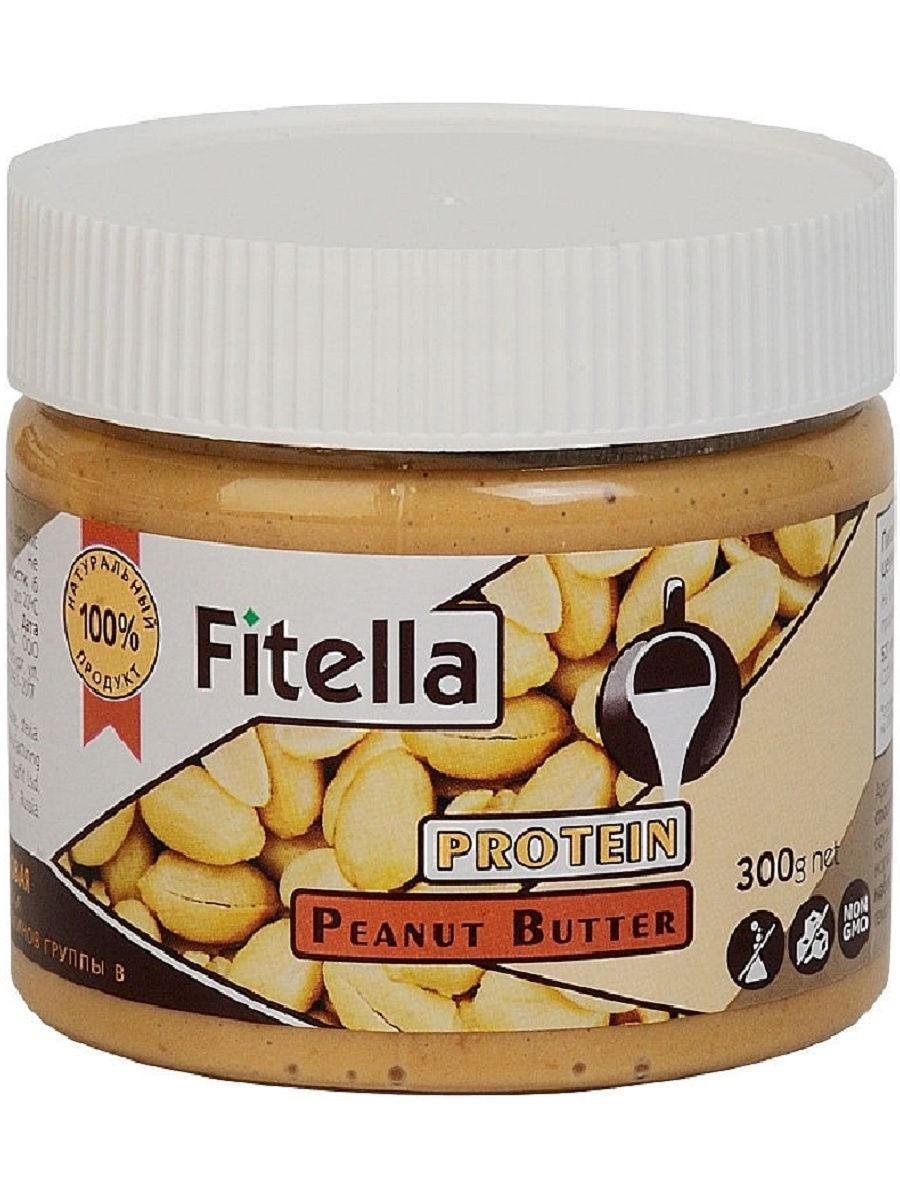 Арахисовая паста Fitella протеиновая, Vitmax nutrition, 300 гр