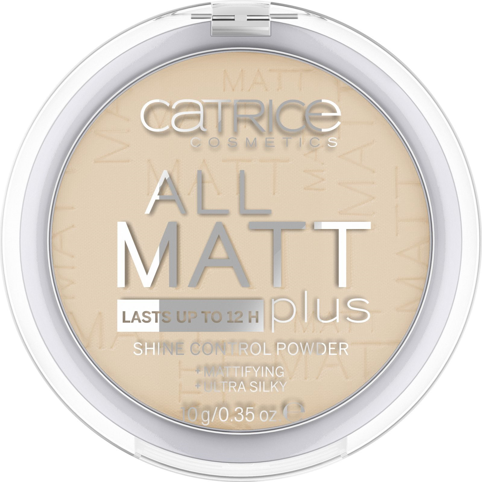 Пудра Catrice All Matt Plus Shine Control, медово-бежевый