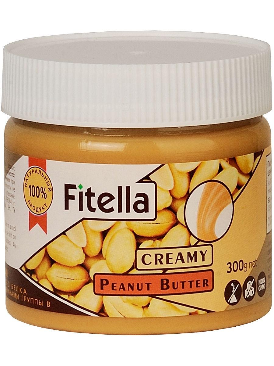 Арахисовая паста Fitella кремовая, Vitmax nutrition, 300 гр