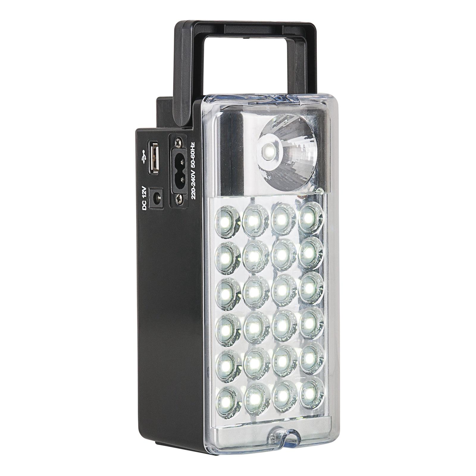 FLK13-16,5-2,5W 28led BK / Кемпинговый фонарь аккумуляторный Light Station