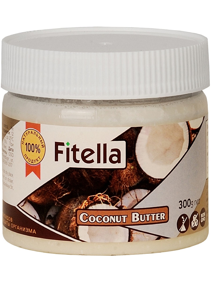 Кокосовая паста Fitella, Vitmax nutrition, 300 гр